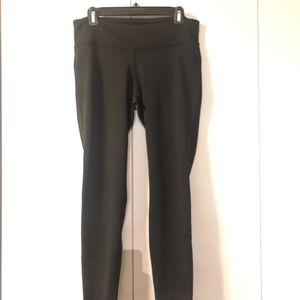 New Balance black workout pants